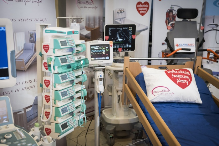 Medical equipment that will be bought from the money raised by the WOŚP Foundation